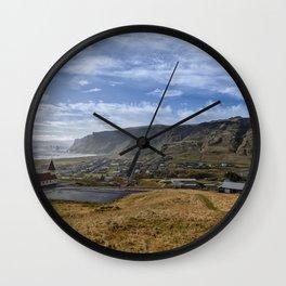 Vik. Wall Clock