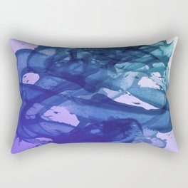 Blue Violet Bends Rectangular Pillow