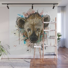 Spotted Hyena Wall Mural
