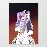 glados Canvas Prints featuring Glados by StickyHunter