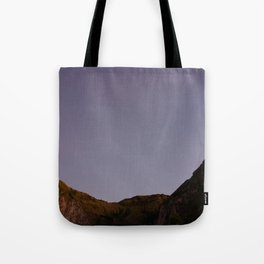 Untouched purple sky Tote Bag