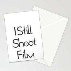I Still Shoot Film! Stationery Cards