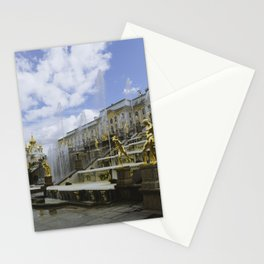 Fountains of Peterhof Stationery Cards