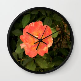 Ash Laden Leaves Wall Clock