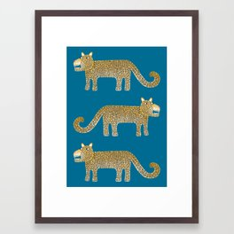 Jaguar Evenings Framed Art Print