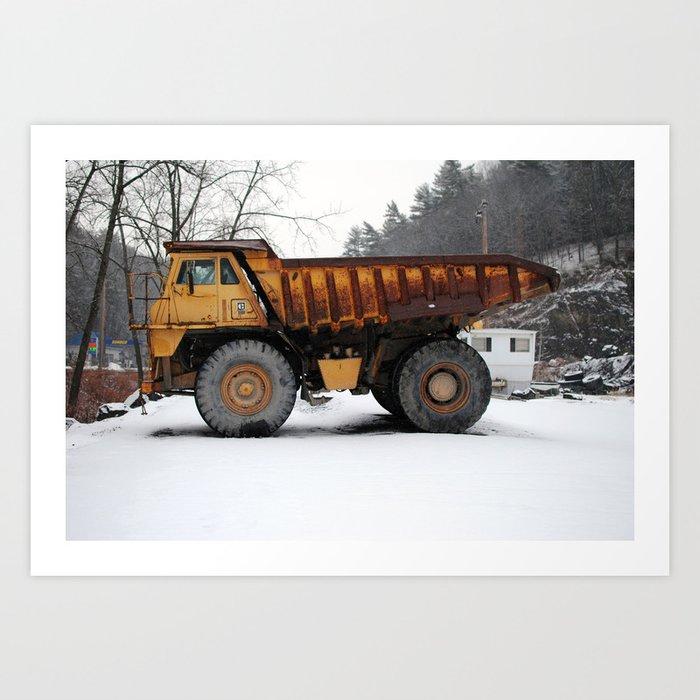 Truck, outside of Woodstock, 2014 Art Print