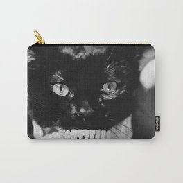 SKULL CAT Carry-All Pouch