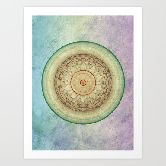 Self Confidence Mandala Art Print