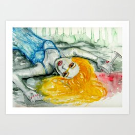 beautiful creature Art Print