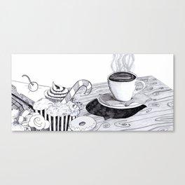 Sweet Coffee Canvas Print