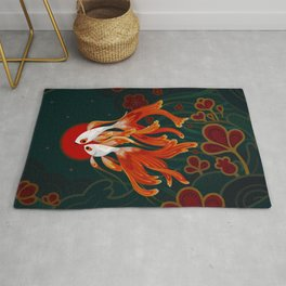 Two comets Rug