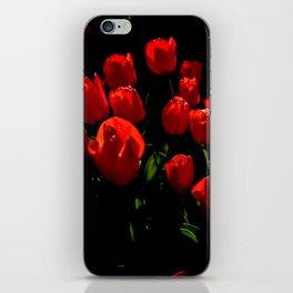Red Tulips, British Columbia iPhone Skin