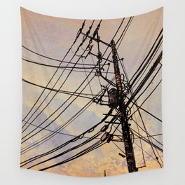wires up Wall Tapestry