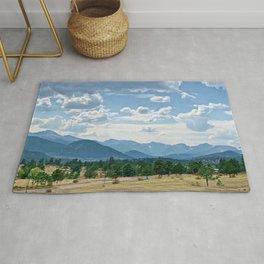 Majestic Colorado Landscape Rug