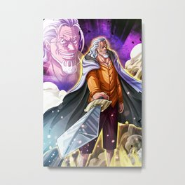 Silver rayleigh - One piece Metal Print