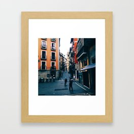 Plaza de Castillo Framed Art Print