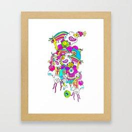 #LEVELUP Framed Art Print