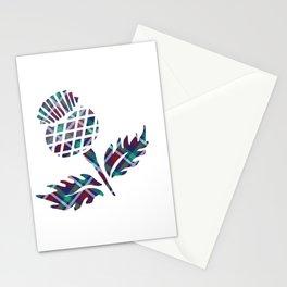 Scotland Gifts Scottish Thistle Tartan Plaid Gift Stationery Cards