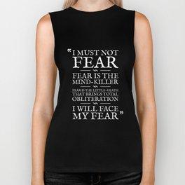 Fear Is The Mind-Killer Biker Tank
