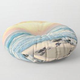 Honolulu Sunrise Floor Pillow