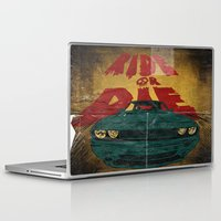 marauders Laptop & iPad Skins featuring MEKANO TURBO/ride or die poster by alexis ziritt