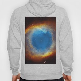 The Helix Nebula or NGC 7293 in the constellation Aquarius. Hoody