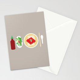 Sriracha Meal Stationery Cards