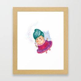Fairy God-mother Framed Art Print
