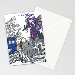 Dragon telephone box Stationery Cards