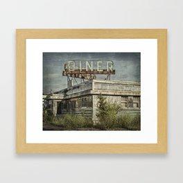 Abandoned Diner 2 Framed Art Print