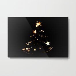 Christmas tree #decor #buyart #society6 Metal Print