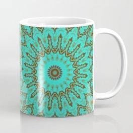 Kaleido in Oxidized Copper Coffee Mug