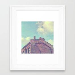 Old Industrial Framed Art Print