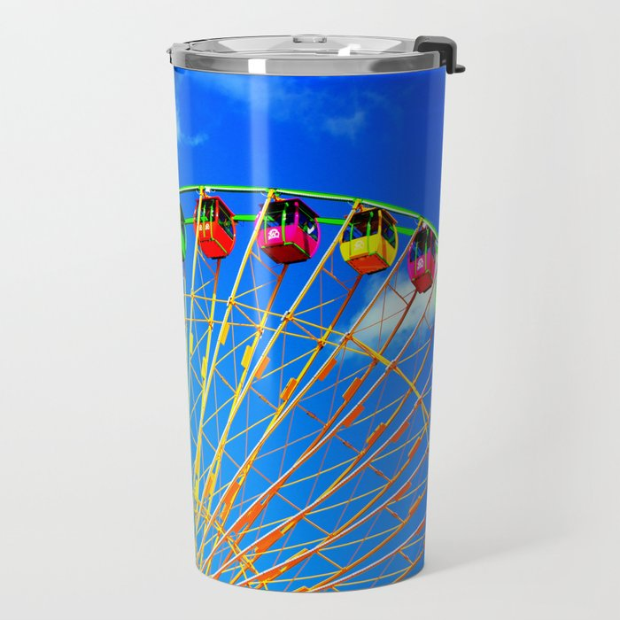 Colorful Ferris Wheel Travel Mug