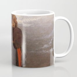 The Girl I Left Behind Me By Eastman Johnson | Reproduction Coffee Mug