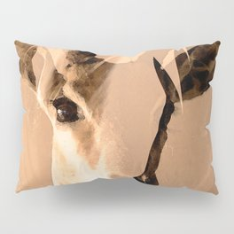 Beautiful and fast - Impala portrait #decor #society6 #buyart Pillow Sham