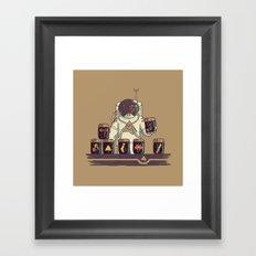 Kleptonaut Framed Art Print