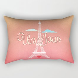 Un Jour Rectangular Pillow