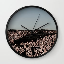 Stacked Wall Clock