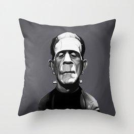 Boris Karloff Throw Pillow