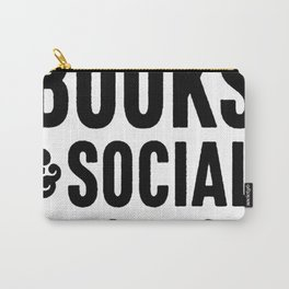 COFFEE BOOKS _ SOCIAL JUSTICE T-SHIRTS Carry-All Pouch