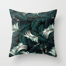 TROPICAL JUNGLE - Night Throw Pillow