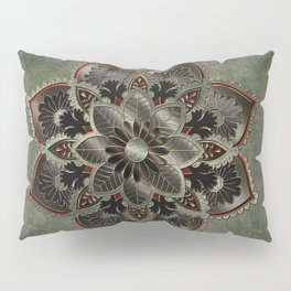 Wonderful noble mandala design Pillow Sham