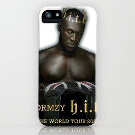 STORMZY - HEAVY IS THE HEAD WORLD TOUR 2020 iPhone Case