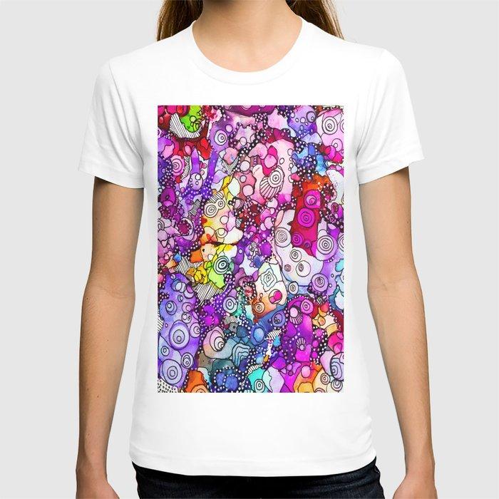 Heavenly Doodles  - Many Eyes Version 2 T-shirt