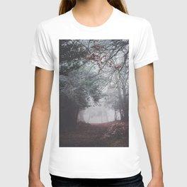 Dark fog forest T-shirt