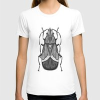 bug T-shirts featuring Bug by pereverzeva