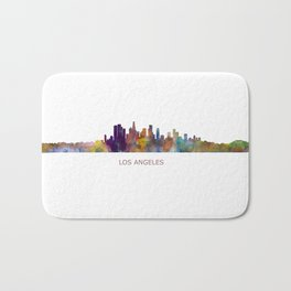 Los Angeles City Skyline HQ v1 Bath Mat