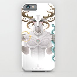 Cernunnos / Animal Gods iPhone Case