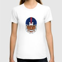 giants T-shirts featuring Faces-Giants by IllSports